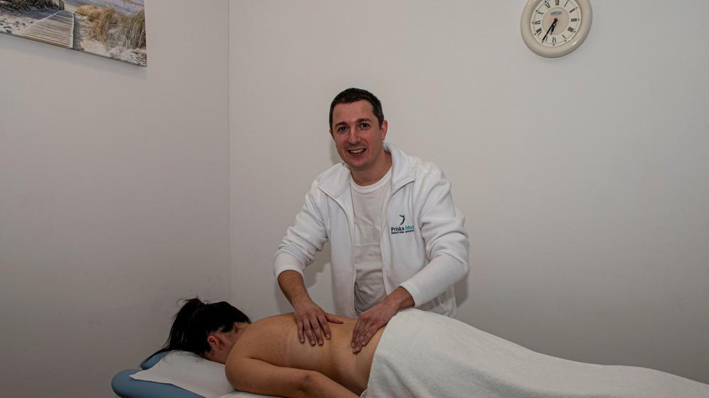Terapijska ručna, aroma masaža
