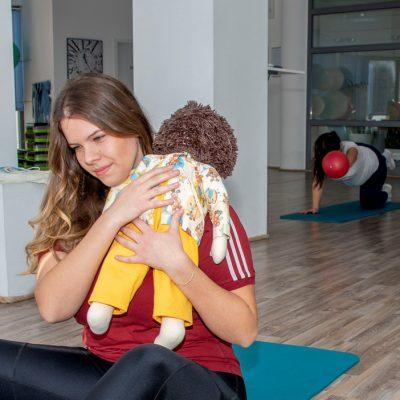 Vježbe za trudnice i Baby handling