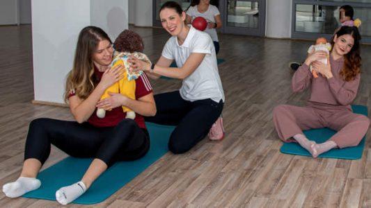 Vježbe za trudnice 1 i Baby handling